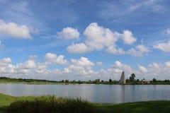 Aardbeeld voor de Riviergang van Sugar Land Memorial Park en Brazos- royalty-vrije stock foto