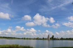 Aardbeeld voor de Riviergang van Sugar Land Memorial Park en Brazos- royalty-vrije stock afbeelding