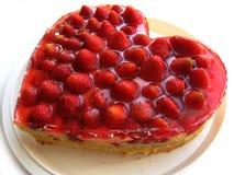 Aardbei cake Royalty-vrije Stock Foto