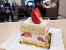 Aardbei shortcake royalty-vrije stock foto