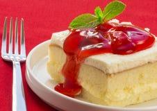 Aardbei shortcake Stock Foto