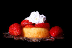 Aardbei Shortcake stock fotografie