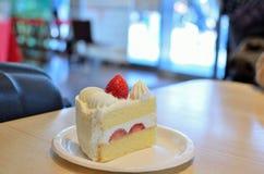 Aardbei shortcake Royalty-vrije Stock Afbeeldingen