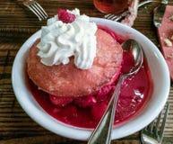 Aardbei shortcake stock afbeeldingen