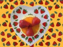 Aardbeien 2 royalty-vrije stock afbeelding