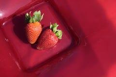 Aardbeien Royalty-vrije Stock Foto's