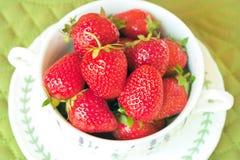 Aardbeien Royalty-vrije Stock Afbeeldingen