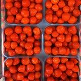 Aardbeien in Amsterdam stock foto's