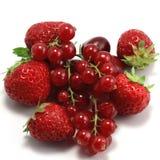 Aardbeien en bessen Royalty-vrije Stock Fotografie