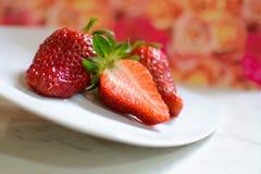 Aardbeien Fragole Royalty-vrije Stock Afbeelding