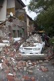 Aardbeving 22 20011 van Christchurch Februari Stock Fotografie