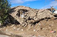 Aardbeving Royalty-vrije Stock Afbeelding