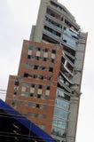 Aardbeving in Chili 02.22.2010 Stock Foto