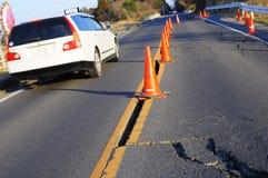 Aardbeving in Japan elfde Maart 2011 Stock Foto's