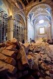 Aardbeving in mijn kerk royalty-vrije stock afbeeldingen