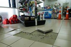 Aardbeving - Schade royalty-vrije stock foto