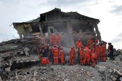 Aardbeving in Turkije Royalty-vrije Stock Fotografie