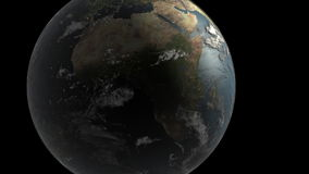 Aarde stock video