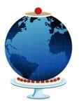 Aarde als cake Royalty-vrije Stock Foto