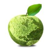Aarde Apple Royalty-vrije Stock Foto's