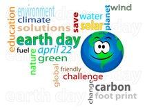 Aarde dag 2 Royalty-vrije Stock Fotografie