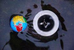 Aarde die roepen: apocalyps stock foto