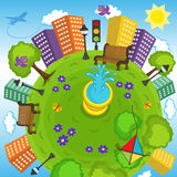 Aarde en milieu Royalty-vrije Stock Foto's