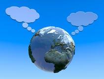 Aarde en tekens Stock Foto's