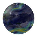 Aarde globale winden. Australië en een deel van Azië. Royalty-vrije Stock Foto
