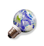 Aarde. Het concept van de Energie van Eco Royalty-vrije Stock Foto's