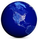 Aarde Map Stock Foto