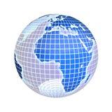 Aarde, nadruk op Europa Royalty-vrije Stock Foto's