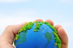 Aarde ter beschikking Stock Fotografie