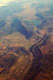 Aarde van de lucht Stock Foto