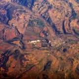 Aarde van de lucht Royalty-vrije Stock Afbeeldingen