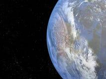 Aarde van de ruimte Stock Illustratie