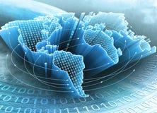 Aarde van Informatie Stock Foto's