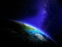 Aarde van Ruimte Royalty-vrije Stock Fotografie