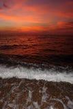 Aarde, wind en brand. Royalty-vrije Stock Foto's
