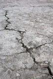 Aardebarst, die door droogte, El Salvador wordt veroorzaakt royalty-vrije stock afbeelding