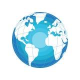 Aardeillustratie Stock Foto's