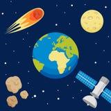Aardeillustratie Stock Afbeeldingen