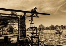 Aarden woningbouw stock afbeeldingen