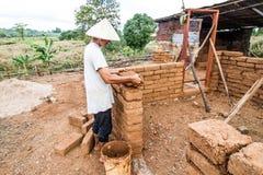 Aarden woningbouw stock fotografie