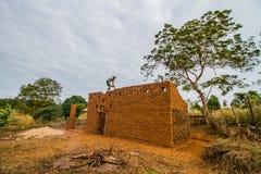 Aarden woningbouw royalty-vrije stock foto