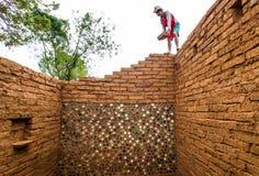 Aarden woningbouw royalty-vrije stock afbeeldingen