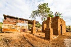 Aarden woningbouw royalty-vrije stock fotografie