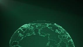 Aardevlecht Intro Groene 2 stock video