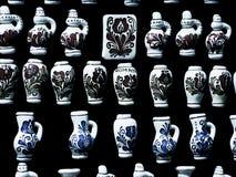 Aardewerkkunst op verkoop, herinnering Stock Foto's