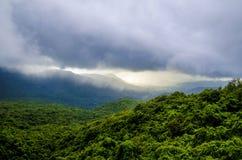 Aardfotografie tijdens moesson in India royalty-vrije stock foto's